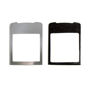 Housing Glass for Nokia 8800 Sirocco Cell Phone, (silver)