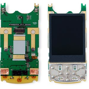 LCD for Fly MX215, SL600 Cell Phones, (with board, Original)