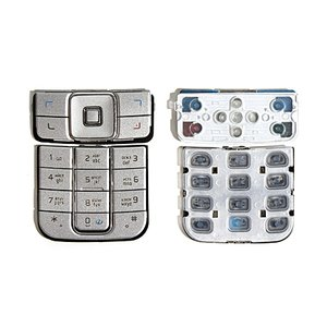 Keyboard for Nokia 6270 Cell Phone, (silver, lower, upper, russian)