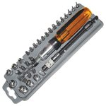 Ratchet Driver Set Pro'sKit 8PK-204B with Bits & Sockets