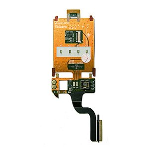 Flat Cable for Sony Ericsson Z250 Cell Phone, (speaker, for mainboard, camera, with components)