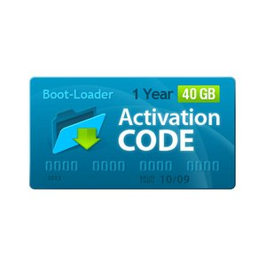 Boot-Loader v2.0 Activation Code (1 year, 40+5 GB)