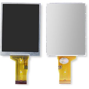 LCD for Canon A470, PC1267 Digital Cameras, (narrow flat cable)