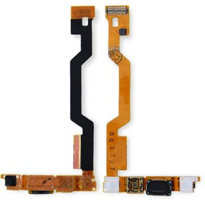 Flat Cable for Sony Ericsson W910 Cell Phone, (speaker, camera, with components)