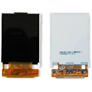 LCD for Fly MC120, MP600 Cell Phones, (with board, Original)