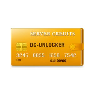 DC-unlocker Server Credits