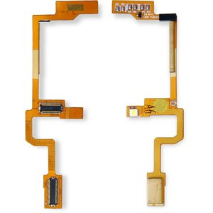 Flat Cable for LG L600i Cell Phone, (for mainboard, with components)
