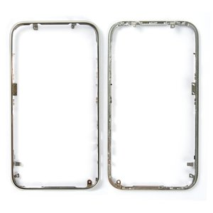 Housing Frame for Apple iPhone 3G, iPhone 3GS Cell Phones, (silver)
