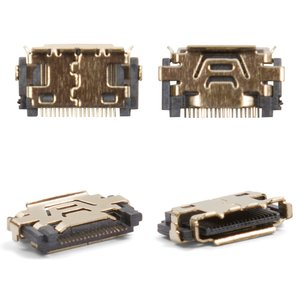 Charge Connector for LG KE970, KF510, KF750, KM500, KP500 Cell Phones