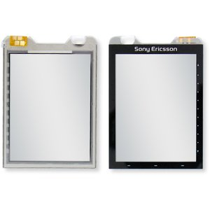 Touchscreen for Sony Ericsson G700 Cell Phone, (black)