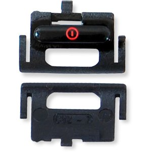 On/Off Button Plastic for Nokia 6300 Cell Phone, (black)