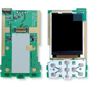 LCD for Fly SX200 Cell Phone, (with board, original)