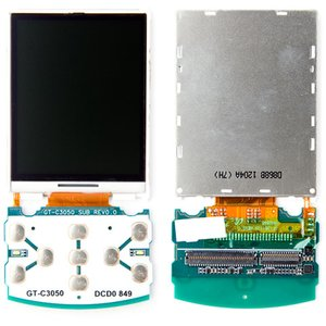 LCD for Samsung C3050 Cell Phone; Samsung, (with board)