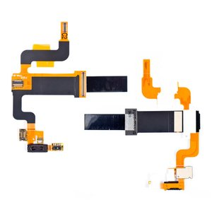 Flat Cable for Sony Ericsson X2  Cell Phone, (for mainboard, speaker, with components)