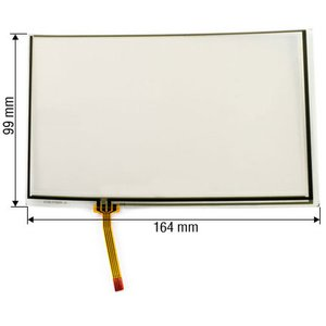 "7""  Flexible Resistive Touch Screen Panel"