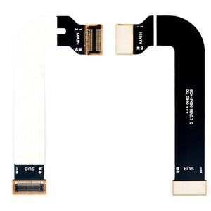 Flat Cable for Samsung F490 Cell Phone, (for mainboard, with components)