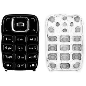 Keyboard for Nokia 6131 Cell Phone, (black, english)