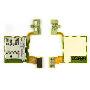 Memory Card Connector for Nokia N97 Mini Cell Phone, (with flat cable)