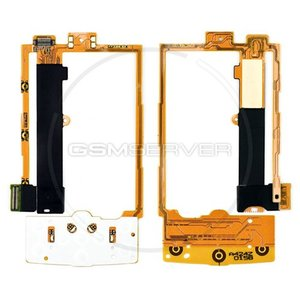 Flat Cable for Nokia X3-00 Cell Phone, (for mainboard, with upper keypad module, with components)