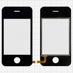 Touchscreen for China-iPhone 3g, 3gs Cell Phones, (82 mm, type 1, (109*56mm), (66*49mm)) #YL1121ABO
