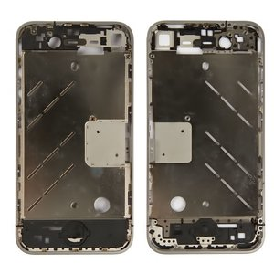 Housing Middle Part for Apple iPhone 4 Cell Phone, (without components)
