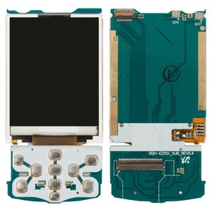 LCD for Samsung E250i Cell Phone, (with board)