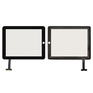 Touchscreen for Apple iPad Tablet, (black)