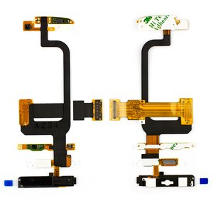 Flat Cable for Nokia C6-00 Cell Phone, (for mainboard, with camera, with components, with keypad module)
