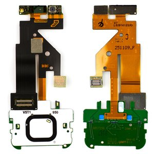 Flat Cable for Nokia 5610 Cell Phone, (original, for mainboard, with camera, with upper keypad module) #0203438