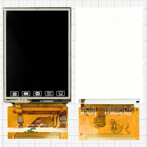 LCD for China-Nokia 6300 Cell Phone, (with touchscreen, 34 pin, (61*43)) #GC240-0109FPC-C