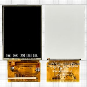 LCD for China-Nokia E71 Mini, N8 Mini, N95 Mini Cell Phones, (with touchscreen, 37 pin, (60*43)) #TFT8K1480FPC-A1-E/TFT8K1475FPC-A1-E/KT240BC-035A/TFT8K2224FPC-A1-E/DFPC024-003A VER1.1