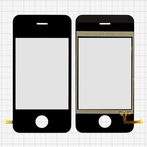 Touchscreen for China-iPhone 3g, 3gs Cell Phones, (81 mm, type 4, (107*53mm), (65*48mm)) #ECW054