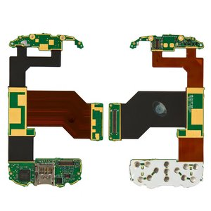 Flat Cable for HTC P4550, TYTN II Cell Phones, (for mainboard, with upper keypad module, with components)