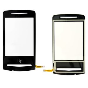 Touchscreen for Fly E130 Cell Phone, (Original, black) #M04J00000100