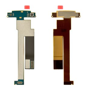 Flat Cable for Nokia N86 Cell Phone, (original, for mainboard, with camera, with components) #0210082