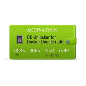 DC-Unlocker Activation for Rocker Dongle (Lite)