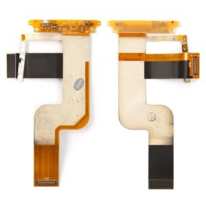 Flat Cable for HTC T7272 Touch Pro Cell Phone, (for mainboard, side buttons, with components, CDMA version)