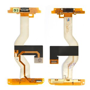 Flat Cable for HTC ADR6325 Merge Cell Phone, (for mainboard, with speaker, with components)