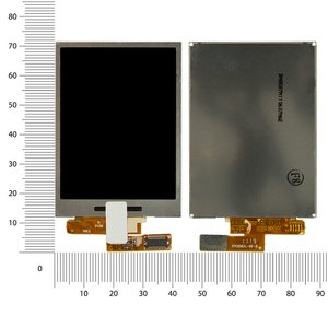 LCD for Huawei C5900 Cell Phone #FPC8587L-V6-B/FPC8750Y-V0