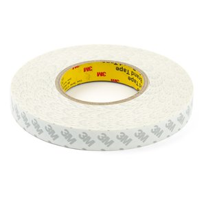 Double-sided Adhesive Tape 3M, (20 mm, for sensors/displays sticking, 0,07 mm, 50m)