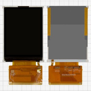 LCD for China-Nokia 5310; China-ZTC ZT188 Cell Phones, (with touchscreen, 37 pin, (60*43)) #S0240320T40GFALW/146367