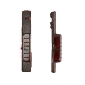 Phone Lock Button Plastic for Nokia 5800 Cell Phone, (wine red)