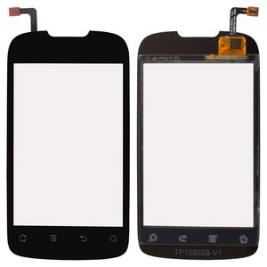 Touchscreen for Huawei U8650, U8660; Kyivstar Aqua; MTC 955 Cell Phones, (black) #TM1808 940-1135-02Rev1.1/TP10497A-V2