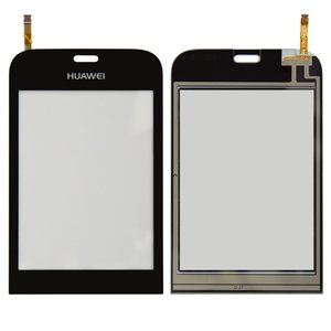 Touchscreen for Huawei G7010 Cell Phone, (black)