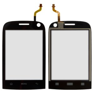 Touchscreen for Huawei V8100 Cell Phone, (black)