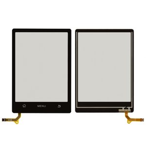 Touchscreen for ZTE N606 Cell Phone, (black)