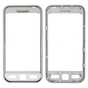 Housing Front Panel for Samsung S5230 Star Cell Phone, (Original, white) #GH98-11970E