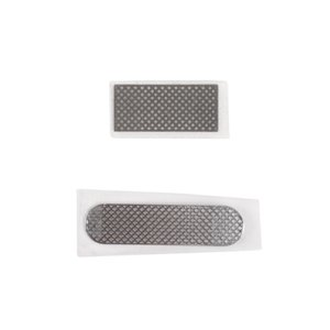 Metal Protective Filter for Apple iPhone 4, iPhone 4S Cell Phones, (full set, (grid))