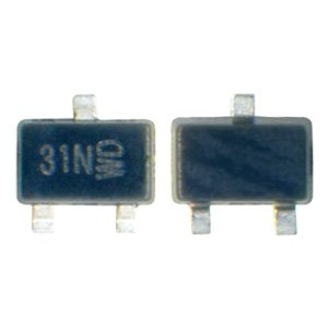 Backlight Transistor N31 for Nokia 1280, 1616, 1661, 1800, C1-00, C1-01, C1-02, C1-03, C2-00 Cell Phones