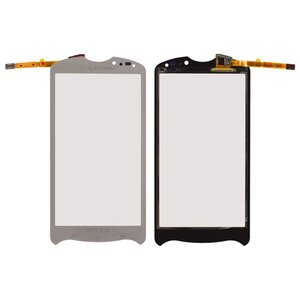 Touchscreen for Sony Ericsson MK16 Cell Phone, (silver)